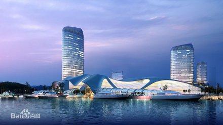 海峡旅游服务中心(25亿元)