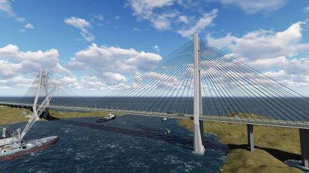 宁波至东莞国家高速公路福建省沙埕湾跨海公路通道工程(14亿元)