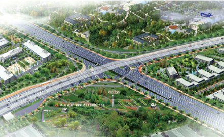 福建漳州市迎宾路(立交桥至漳州高速公路口)道路改造工程(6亿元)
