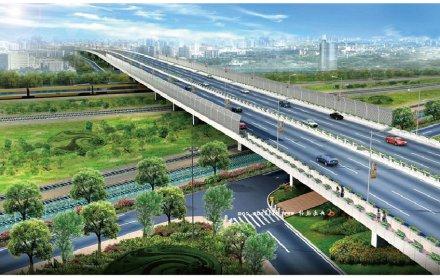 福建漳州蓝田经济开发区小港北路联东大桥及引道工程(2.2亿元)